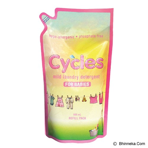 CYCLES Refill 800ml [FG-CY] - Baby Laundry / Detergen Bayi